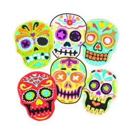81-22492_Sugar Skull Cookie Cutters_Cookies