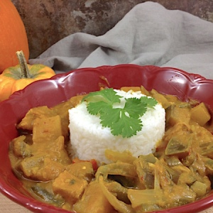 Spicy Pumpkin Curry 450