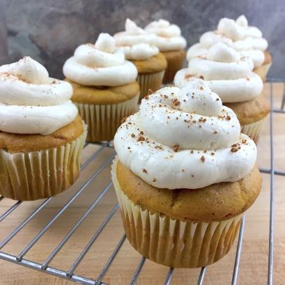Pumpkin Chai Spice Cupcakes