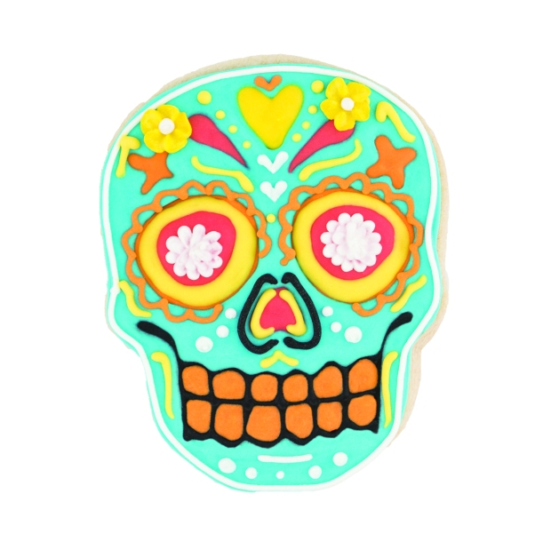 81-22492_Sugar Skull Cookie Cutters_Cookie 3