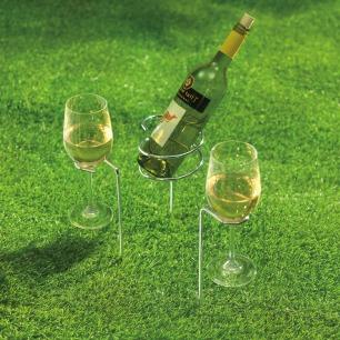 SteadySticks Wine Holders